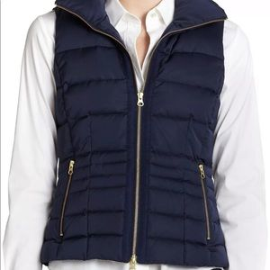 Lilly Pulitzer Syd Down Filled Quilted Vest, XS